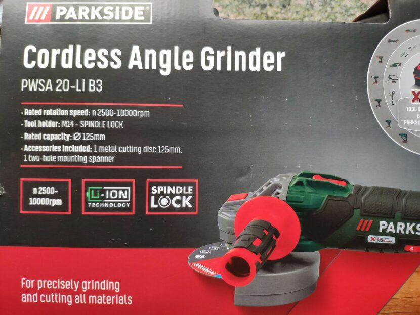 lidl cordless grinder review