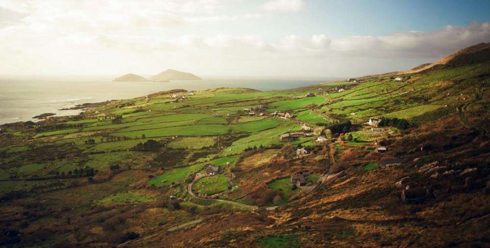 living in rural Ireland